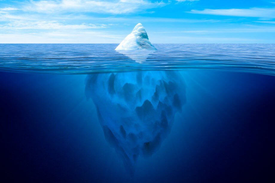 Why Dentistry Is Like an Iceberg
